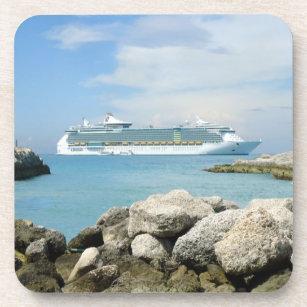 Cruise Ship at CocoCay Coasters