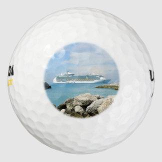 Cruise Ship at CocoCay Golf Balls