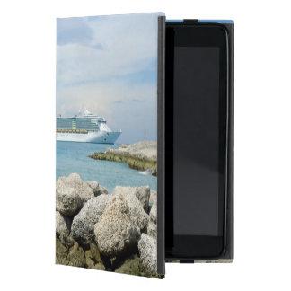 Cruise Ship at CocoCay iPad Mini Cover