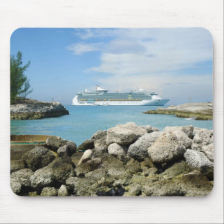 Cruise Ship at CocoCay MP1 Mouse Pad