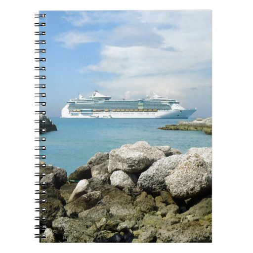 Cruise Ship at CocoCay Notebook