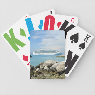 Cruise Ship at CocoCay Playing Cards