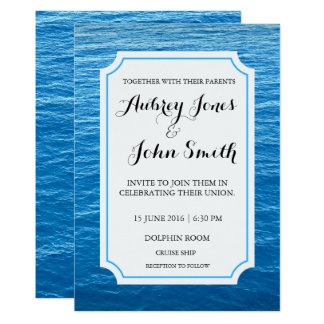 wedding invitations cruise ship Wedding