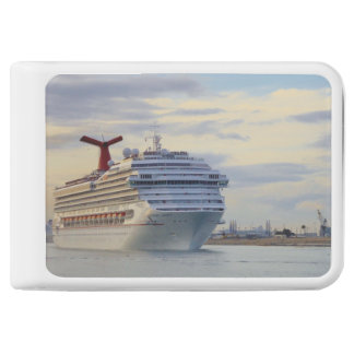 Cruise Ship at Twilight Power Bank