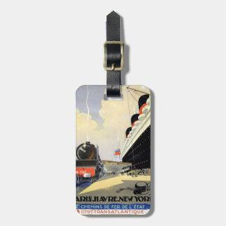 Cruise Ship Bag Tag