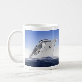 Cruise Ship Basic White Mug