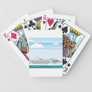 Cruise ship bicycle playing cards
