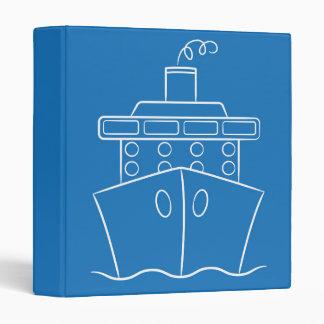 Cruise ship binder