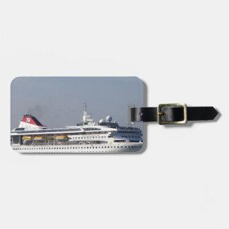 Cruise ship Braemar. Bag Tag