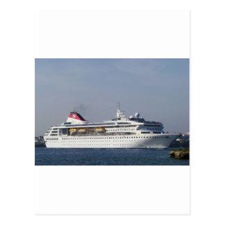 Cruise ship Braemar. Postcard