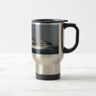 Cruise ship Braemar. Travel Mug