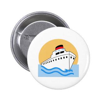 CRUISE SHIP 2 INCH ROUND BUTTON