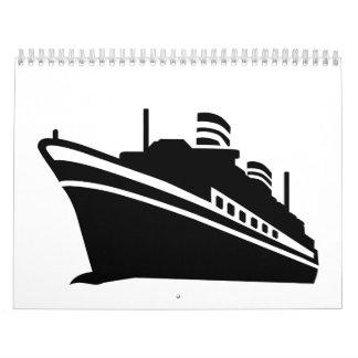 Cruise ship calendar