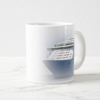 Cruise Ship Cameo Giant Coffee Mug