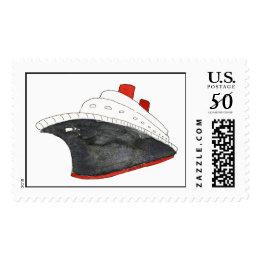 Cruise Ship Custom Postage
