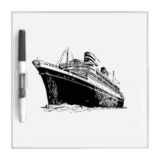 Cruise Ship Dry Erase Board