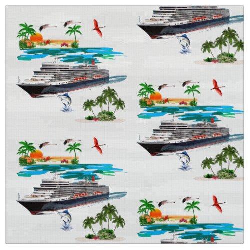 Cruise Ship Fabric