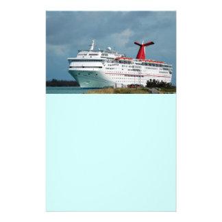 cruise ship flyer