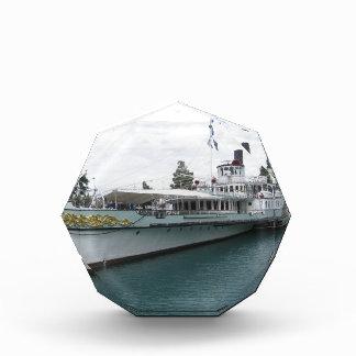 Cruise ship for leisure trip on Lake Thun Acrylic Award