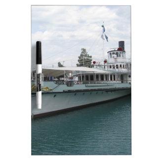Cruise ship for leisure trip on Lake Thun Dry-Erase Board