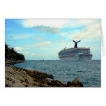 ~Cruise Ship~ GREETING CARD, CUSTOMIZE Greeting Card