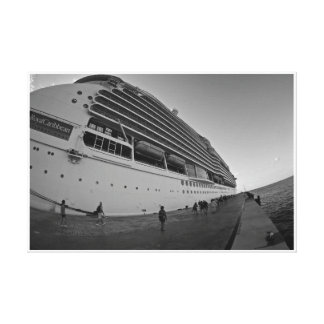 CRUISE SHIP HUGE CANVAS PRINT