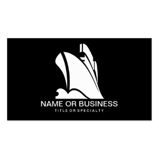cruise ship icon Double-Sided standard business cards (Pack of 100)