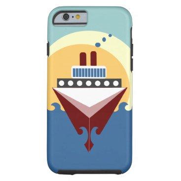 Cruise Ship iPhone 6 Sunrise Case