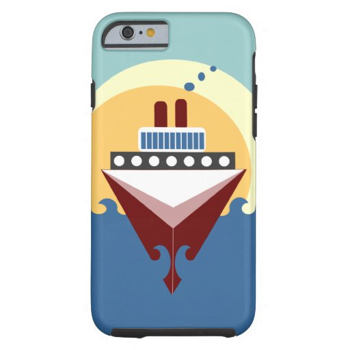 Cruise Ship iPhone 6 Sunrise Case