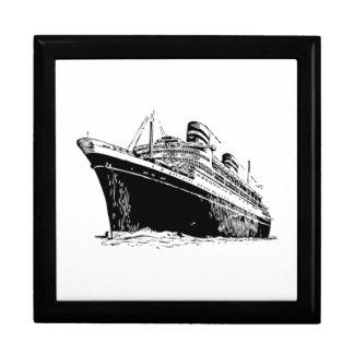 Cruise Ship Keepsake Box