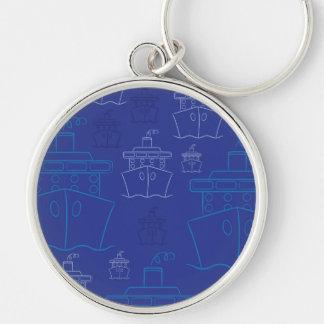 Cruise ship keychain