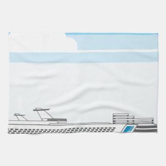 Cruise ship kitchen towel