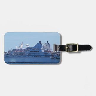 Cruise ship Le Diamant. Luggage Tag