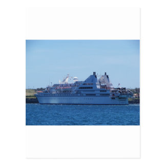 Cruise ship Le Diamant. Postcard