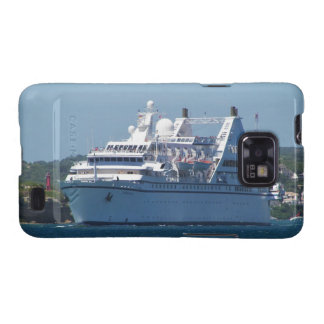 Cruise Ship Leaving Mahon Samsung Galaxy S2 Covers