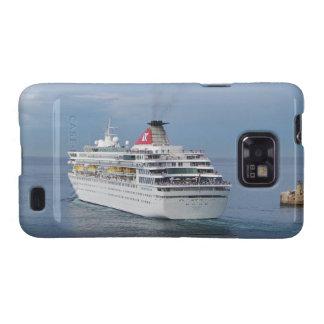 Cruise Ship Leaving Malta Samsung Galaxy SII Covers