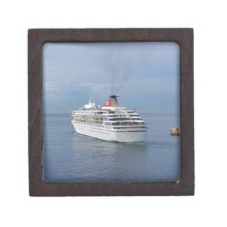 Cruise Ship Leaving Malta Premium Jewelry Boxes
