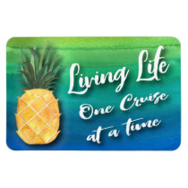 Cruise Ship Living Life Stateroom Cabin Door Sign Magnet