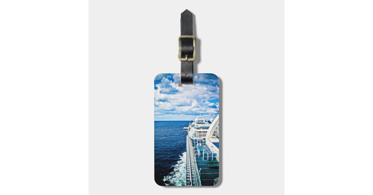 luggage and cruise liner