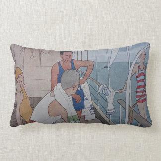 Cruise Ship Lumbar Pillow