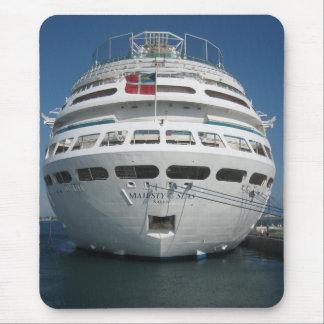 Cruise ship mouse pad