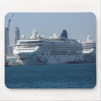 Cruise Ship mousepad ( autism )