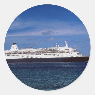 Cruise ship, Nassau, Bahamas Sticker