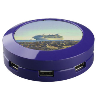 Cruise Ship Off CocoCay USB Charging Station