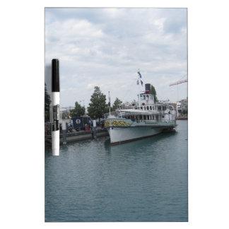 Cruise ship on Lake Thun berthed at Interlaken Dry Erase Whiteboards