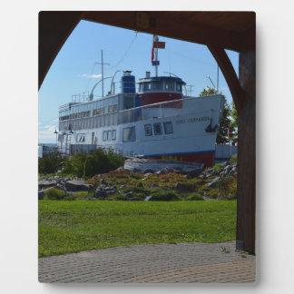 cruise ship photo plaques