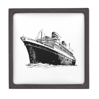 Cruise Ship Premium Keepsake Box