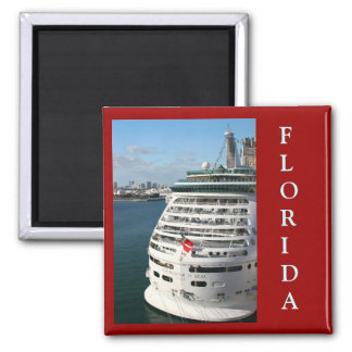 Cruise Ship - Save the date Magnet