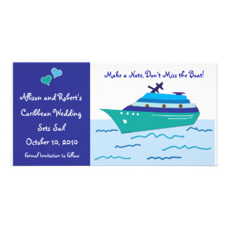 Cruise Ship Save the Date Photo Cards
