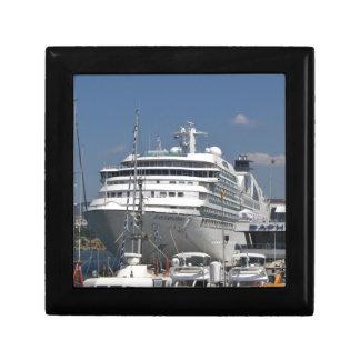 Cruise Ship Seabourn Odyssey Jewelry Box